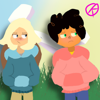 Keimax, they switched sweaters by KeiraKally