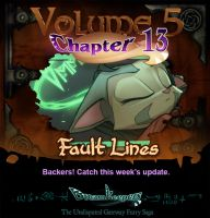 Volume 5 page 13 update announcement by Dreamkeepers