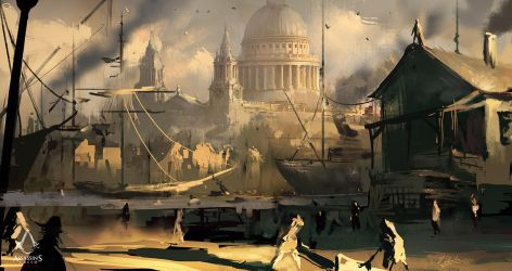 Assassin's Creed: Syndicate Composition1 by daRoz
