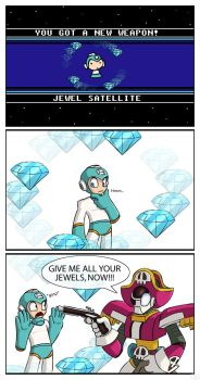 Jewel Satellite by SootToon