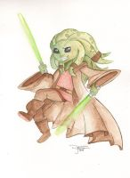 Kit Fisto by dsoloud