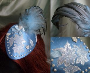 Gerolda teardrop fascinator by fairyfrog