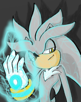 Silver the Hedgehog by HaleyxH