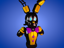 SpringtraP-Mask OC W.I.P by luizcrafted