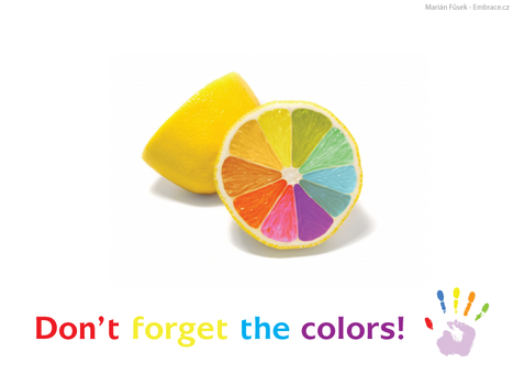 Don't forget the colors by Ramedine