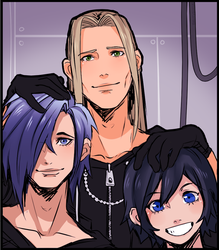 KH - Family Selfie by Brittyboo14
