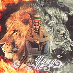 Covers Yin Yang Africaf ( Blacko ) by I-Mega-I