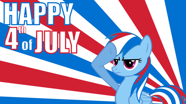 Happy Fourth Of July [Wallpaper] by SonicRainBoomFTW