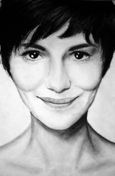 Audrey Tautou--finished by TurquoiseCat