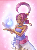Shahra the Ring Genie by SailorMoonAndSonicX