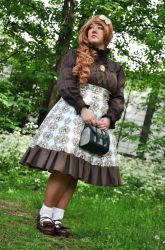 Classic Lolita - Standing by Anjet