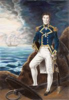 Captain S. Holmes of His Majesty's Ship Peregrine by crimsongriffin28