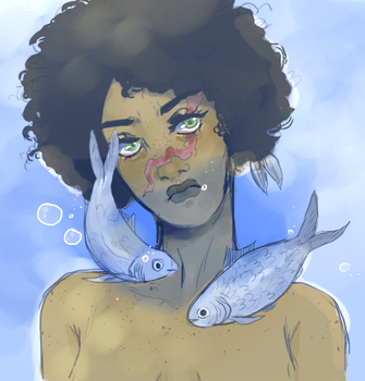 fish queen by wakesfield