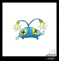 Chinchou!  Pokemon One a Day, Series 2!