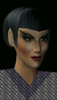 Cher As A Romulan by TheNinthWaveTNW
