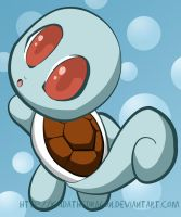 Squirtle by KaidaTheDragon
