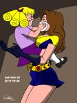 Babydoll Vs Kitty Pryde [Commission] by Kaywest
