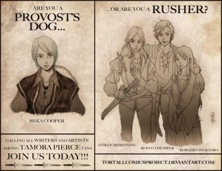 Provost's Dog Poster by Maseiya