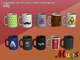 Mugs for XPS by Gragra96