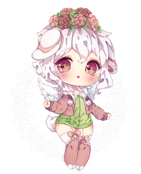 Doll [Detailed chibi commission] by Antay6009