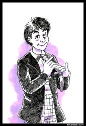 Doctor Who - Patrick Troughton by ThePandamis
