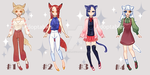Adoptable Auction#6 [open 4/4] by kukufish