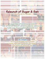 Relaunch of Sugar and Salt by AmaranthineRain