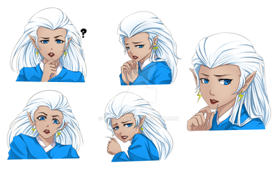 More Faces of a Princess by Sessy-Lady