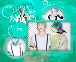 Suga  [BTS] Pack PNG by Upwishcolorssx