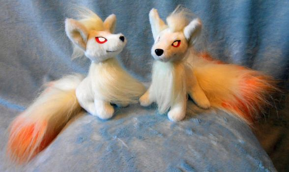 Firefoxes (up for sale) by Rens-twin
