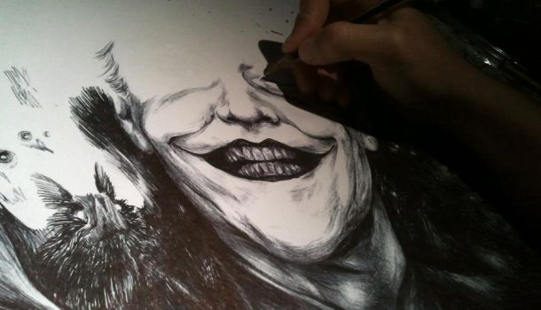 Joker WIP by Kaos-Nest