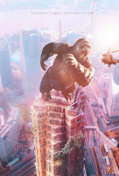 Mad King Kong by ngelz