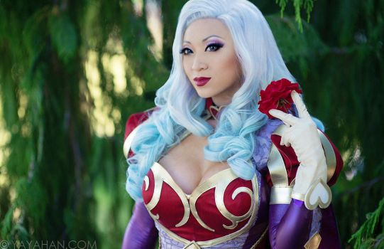 Heartseeker Ashe Portrait (Cosplay) by yayacosplay