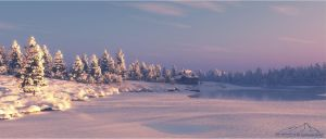 Winter Scenery prt. 1 by 3DLandscapeArtist