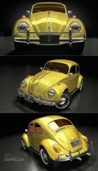 VW Beetle 1956 Cepillo by SeRHeLL