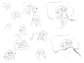 A Hat in time: Sketches 12 by Natalya-Chan