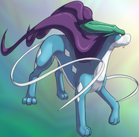 Suicune by Chibi-Pika