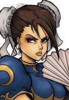 Street Fighter - Chun Li by dafrek