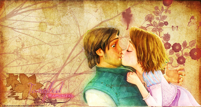 Tangled Rapunzel And Flynn Wallpaper By Lovecocoabeans On DeviantArt