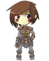 PC- Chibi Kinsey by KittiRawr