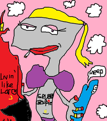 Nicktoon 7 Deadly Sins: Lust - Pearl and Larry by JohnnyLurg
