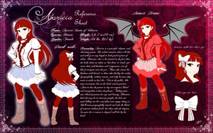 Com: Aaricia Reference Sheet by DragginCat