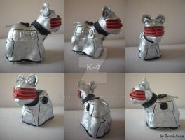 My little Pony Custom Doctor Who K-9 by BerryMouse