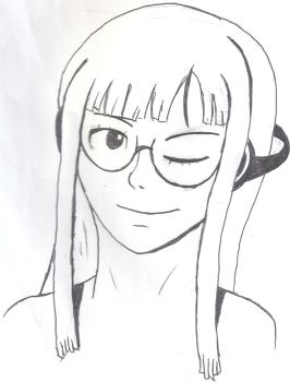 Futaba drawing 2 by MinuanoGS