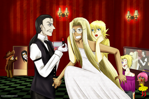 Hellsing Wedding: part1 before the wedding by MoonBeamDust