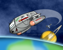 Shuttlecraft toon by BJ-O23