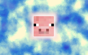 Minecraft Pig Wallpaper by Arcticus1010