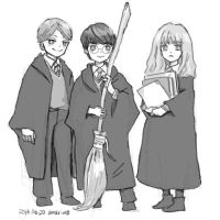 Harry Potter by amarim