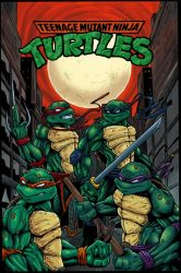 TMNT 2010 Colored by Kyle-Fast