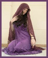 Purple Dress 1 by Lisajen-stock